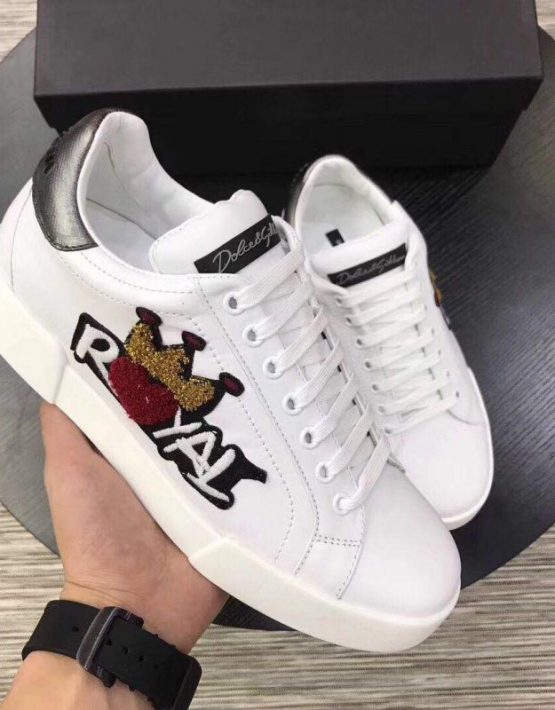 Dolce \u0026 Gabbana Royal Sneaker White
