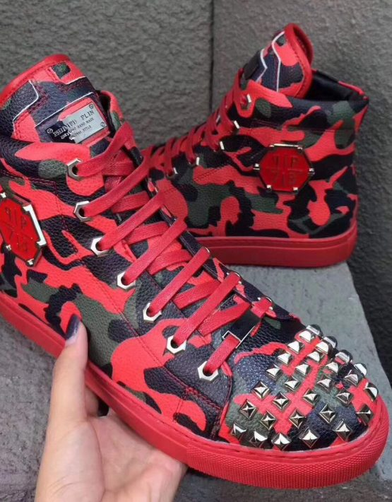 Philipp Plein Sneaker Red Camo